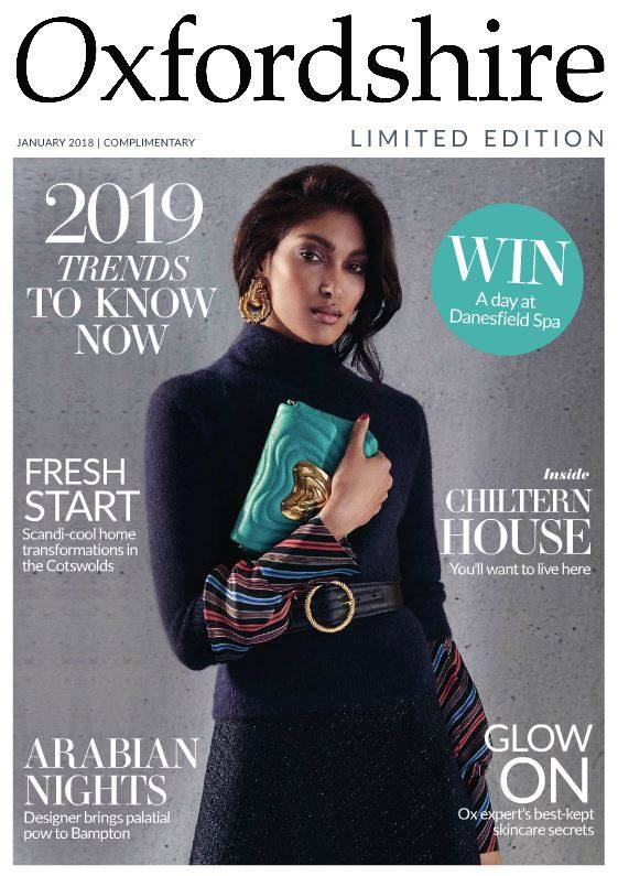 OXFORD TIMES Oxfordshire Limited Edition January 2019 UK - Bahar Interior
