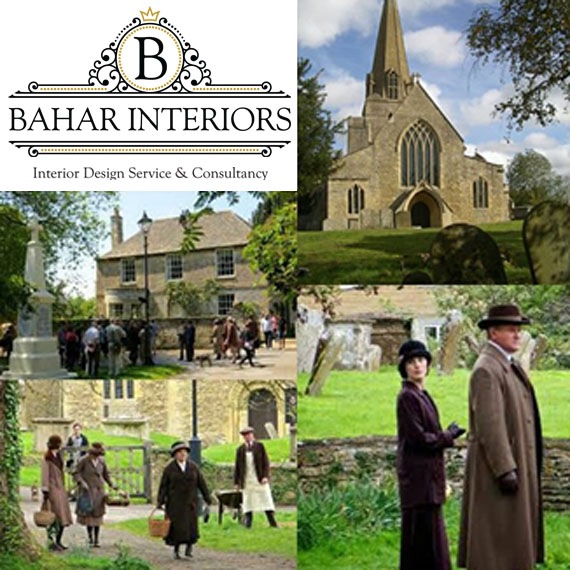 DOWNTON ABBEY, Bampton Oxfordshire UK - Bahar Interior