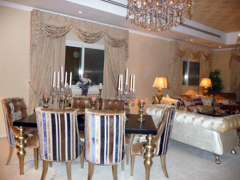 Private Majlis, Jumeirah Dubai UAE - Bahar Interior